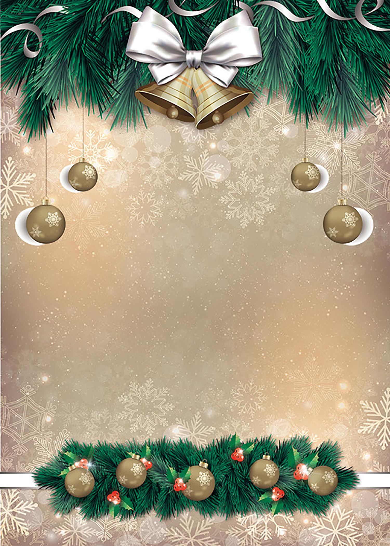 открытки подложки для новогоднего меню 2019 цвета